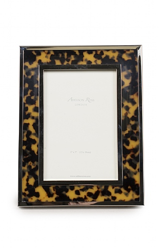 5x7 inch Faux-Tortoiseshell Photo Frame