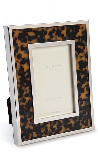 4x6 inch Faux-Tortoiseshell Photo Frame