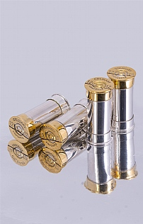 Set of 4 Silver Plated Cartridge Placeholders