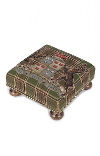 Scottish Heritage Footstool