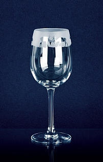 Stag Crystal Wine Glass