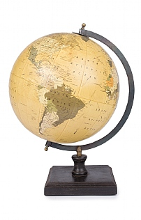 Large Traditional World Globe