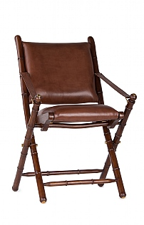 New Leather Folding Chair