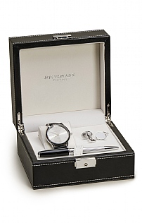 Boxed Pen, Watch & Cufflinks Set