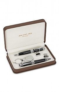 Boxed 2-Pen, Keyring & Cufflink Set