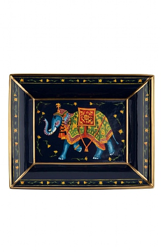 Halcyon Days Elephant Trinket Tray