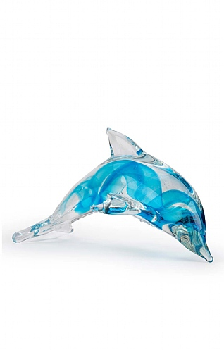 Glowing Dolphin Paperweight
