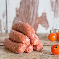 Pork & Tomato Sausages