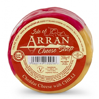 Isle of Arran Chilli Truckle 200g
