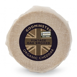 Godminster Oak Smoked Wax Truckle