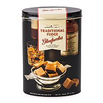 Gardiners Glenfarclas Whisky Fudge Tin 300g