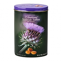 Gardiners Thistle Toffee Oval Tin 300g