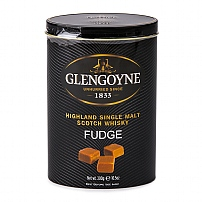 Gardiners Glengoyne Whisky Fudge Tin 300g