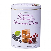 Gardiners Cranberry & Blueberry Fudge Tin 300g