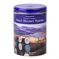 Gardiners Malt Whisky Fudge Tin 200g