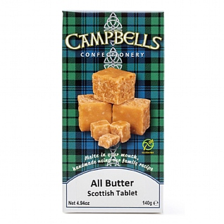 Campbells All Butter Tablet 140g