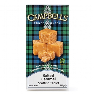 Campbells Salted Caramel Tablet 140g