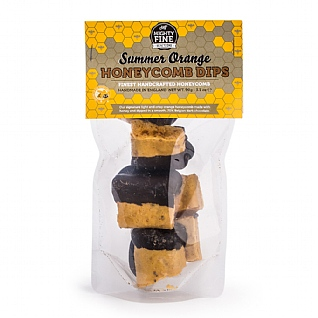 Mighty Fine Dark Chocolate Summer Orange Honeycomb Dips 90g