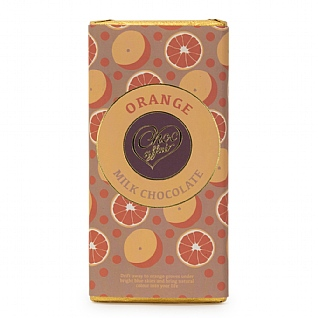 Orange Milk Chocolate 100g