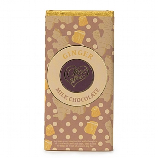 Ginger Milk Chocolate 100g