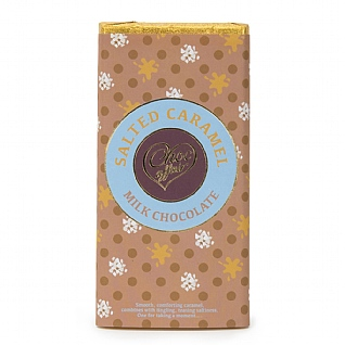 Salted Caramel Milk Chocolate 100g
