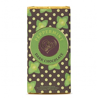 Peppermint Dark Chocolate 100g
