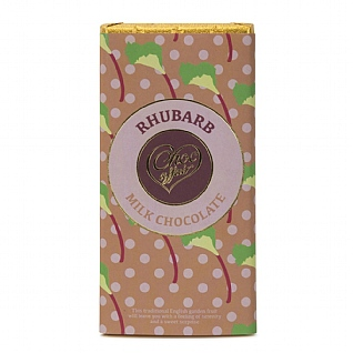 Rhubarb Milk Chocolate 100g
