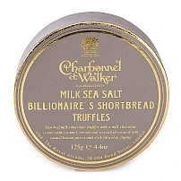 Charbonnel et Walker Milk Sea Salt Billionaire's Shortbread Truffles 125g