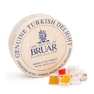 House of Bruar Turkish Delight Drum 454g