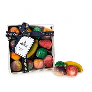 The House Of Bruar Assorted Marzipan Fruits 280g