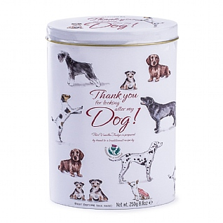 Gardiners Thank You Fudge Tin: Dog Sitting 250g