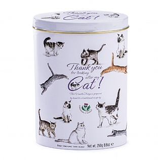 Gardiners Thank You Fudge Tin: Cat Sitting 250g