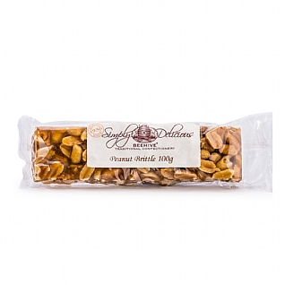 Simply Delicious Peanut Brittle 100g