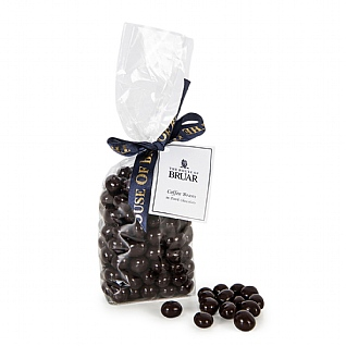 The House Of Bruar Dark Chocolate Coffee Beans 200g