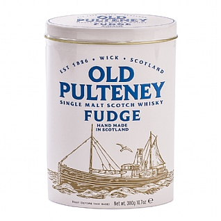 Gardiners Old Pulteney Whisky Fudge Tin 300g