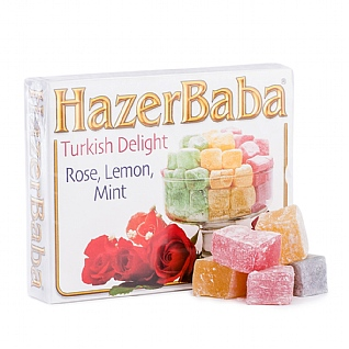 Hazer Baba Assorted Turkish Delight 125g