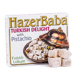 Hazer Baba Pistachio Turkish Delight 125g