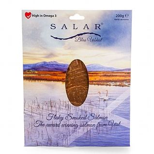 Salar Flaky Smoked Salmon 200g