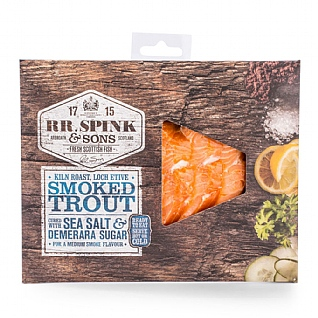 RR Spink & Sons Kiln Roasted Smoked Trout 120g
