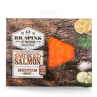 RR Spink & Sons Cold Smoked Salmon 100g