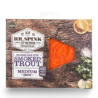 RR Spink & Sons Cold Smoked Trout 100g
