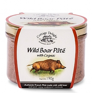 Cottage Delight Wild Boar Pâté With Cognac 190g