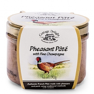 Cottage Delight Pheasant Pâté With Fine Champagne 190g