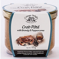 Cottage Delight's Crab Pâté With Brandy & Peppercorns 185g
