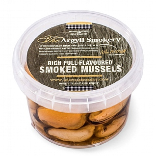 The Argyll Smokery Smoked Mussels 200g