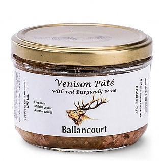 Ballancourt Venison Pâté With Red Burgundy Wine 180g