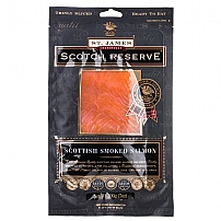 St James Smokehouse Smoked Salmon 'D' Cut 200g