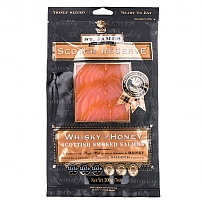 St James Smokehouse Smoked Salmon With Whisky & Honey 200g