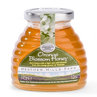 Heather Hills Orange Blossom Mild Honey 12 Oz