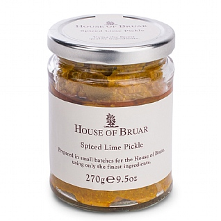 The House Of Bruar Spiced Lime Pickle 270g
